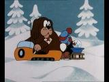 Кротик и снеговик